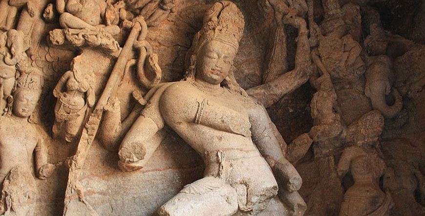 Shiva as Nataraja elephanta caves