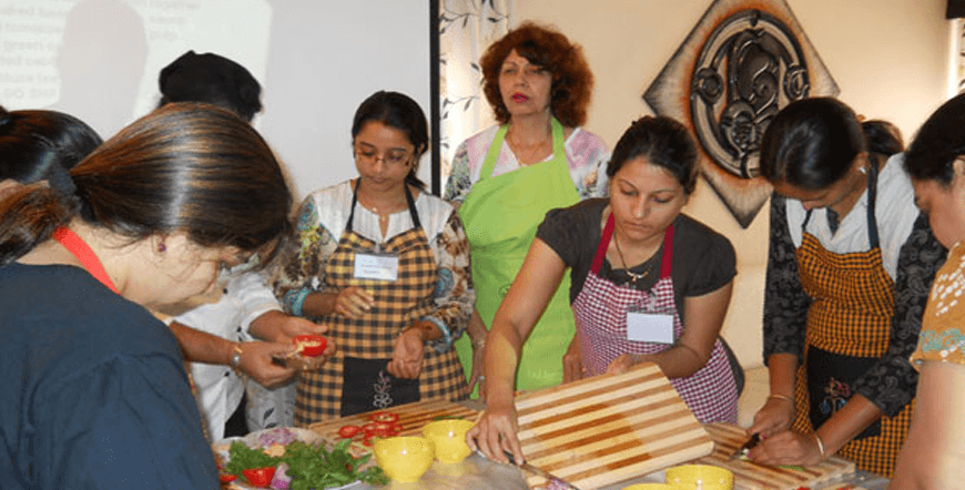Indian Cooking Demo Tour