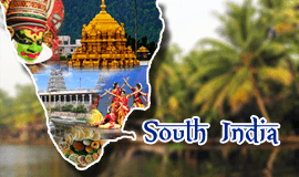 South India Tour Packages, Book South India Holiday Packages